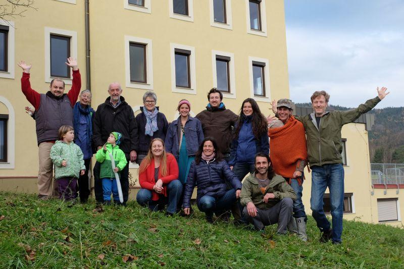 Das LebensGut-Team im November 2016