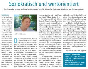 Hainfelder Herbst 2015 Interview Sandra