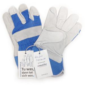 Handschuhe auf weiß