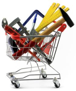 Werkzeug_im_Einkaufskorb_Fotolia